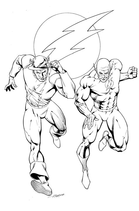 Zoom From Flash Coloring Pages Coloring Pages