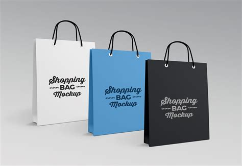 Free for commercial and personal use. Free High Quality Paper Shopping Bag Mockup PSD