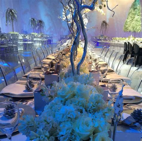 winter wonderland wedding theme   event design