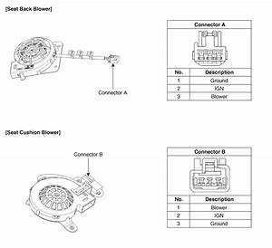 Kia Soul  Air Ventilation Seat Control Unit Circuit