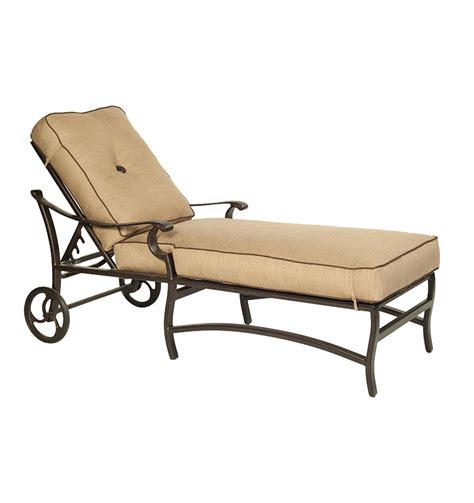 chaise colier monterey cushioned chaise lounge collier