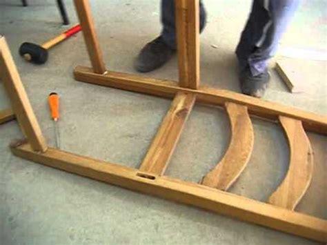 chaise cassée réparation de chaise avec gaë