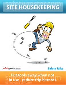 Slip Trip and Fall Safety Cartoons