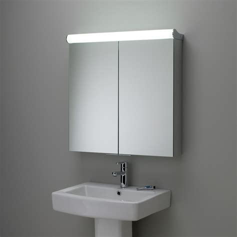 Sided Bathroom Mirror by Roper Latitude Illuminated Bathroom Cabinet