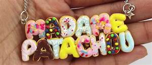 Tuto Pate Fimo : tuto fimo collier donuts faire un collier donuts en p te ~ Dode.kayakingforconservation.com Idées de Décoration