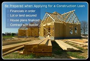 Construction, Loans