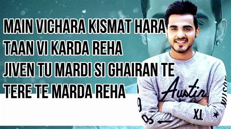 Main Vichara Lyrics  Armaan Bedil  Main Vichara  Youtube