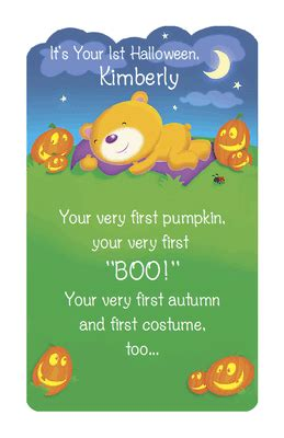 babys  halloween greeting card halloween printable