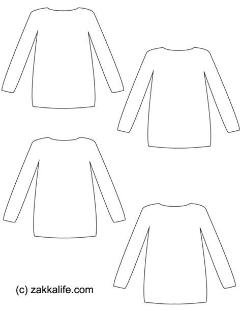 sweater template diy sweater gift tags zakka