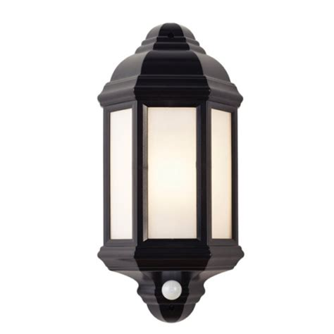 halbury outdoor pir wall light el 40115 the lighting