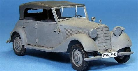Masterbox 1/35 German Military Car, Type 170 V, By Dale