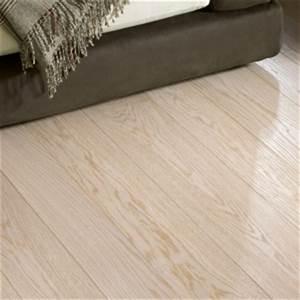 Textured bleached white oak flooring hicraft wooden for Bleached parquet floors