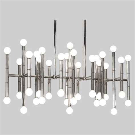 meurice chandelier robert jonathan adler meurice rectangular chandelier