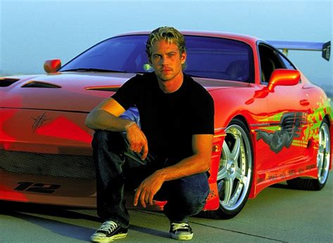 Paul Walker's car from original Fast and Furious movie to