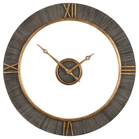 Uttermost Wall Clocks by Uttermost Clocks Alphonzo Modern Wall Clock Goffena