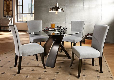 rooms to go round dining table del mar 5 pc dining set dining room sets
