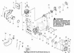 Poulan P2500 Gas Trimmer Parts Diagram For Engine