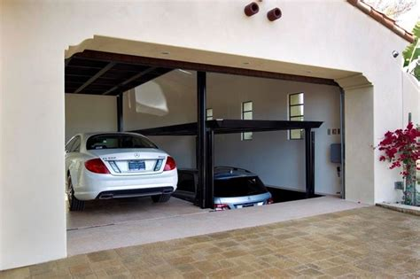 car lifts for garage custom car lift in california garage mediterranean