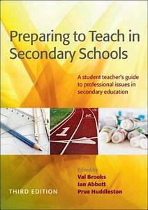 9780335246328  Preparing To Teach In Secondary Schools  A