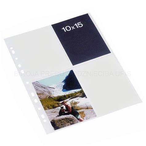 Kabata fotogrāfijām 10 x 15 cm A4 (balta starplika ...