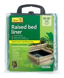 gardman raised bed liner for grow herb vegetable planter