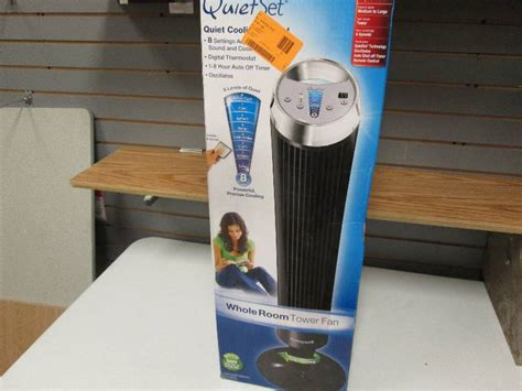 room to room fans whisper quiet honeywell quiet set whole room towe retail store