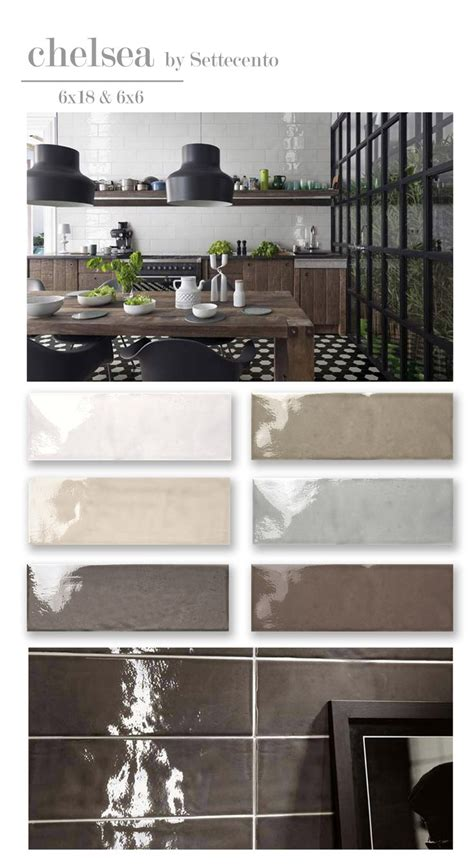 bright kitchen tiles settecento chelsea fired white ceramic tile 1805