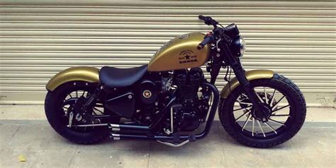 royal enfield classic  modification  harley