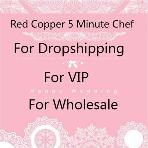 wholesale red pan copper pan double coating  minute chef  stick copper cooker cookware