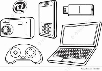 Technology Drawing Illustration