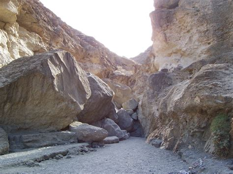 mosaic canyon death valley national park  national