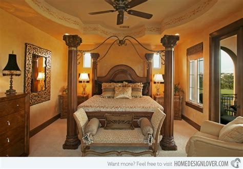 Tuscan Style Bedroom 15 extravagantly beautiful tuscan style bedrooms