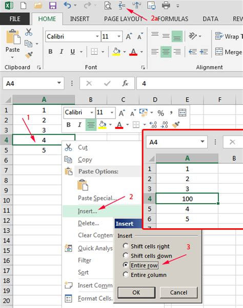 insert  delete cells columns rows worksheets  excel