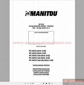 Keygen Autorepairmanuals Ws  Manitou Mt 1435 1440sl Series