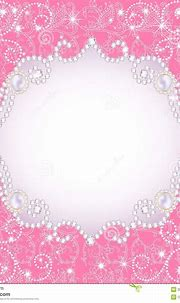Pink Background With Pearls, For Inviting Stock Images ...