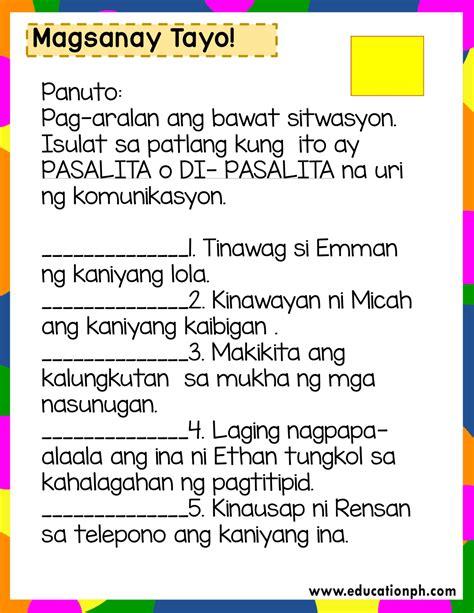 grade  filipino workbook education ph