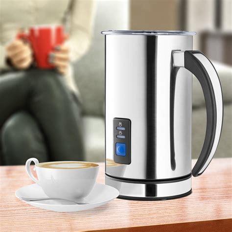 Coffee, tea & espresso makers. Amazon.com: Chef's Star Milk Frother - Automatic Foam Maker & Creamer For Hot Or Cold Milk ...
