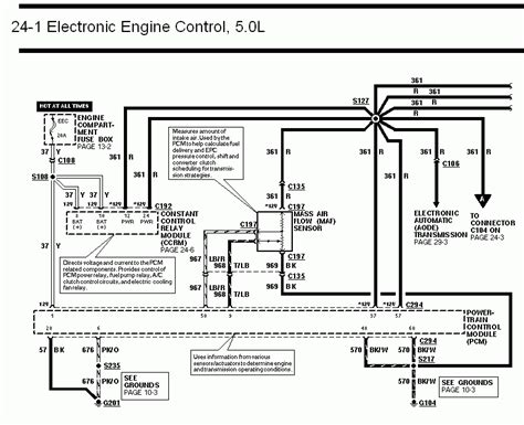 94 Mustang Power Window Wiring Diagram by 94 95 Mustang Pcm To Ccrm Wiring Diagram