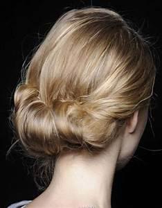 Chignon Cheveux Mi Long : chignon de mari e pour cheveux mi longs je veux un joli ~ Melissatoandfro.com Idées de Décoration