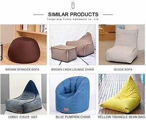 Indoor, Fabric, Color, Matched, Bean, Bag, Chair