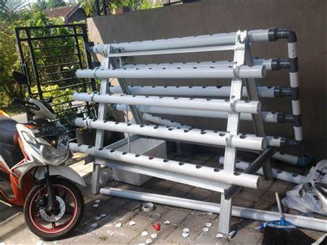 Jual Alat Hidroponik Bogor jual modul hidroponik nft dft model a panjang pipa 2m x