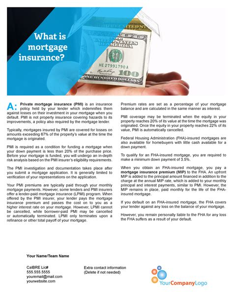 So what is mortgage insurance, exactly? Client Q&A: What is mortgage insurance? | first tuesday Journal