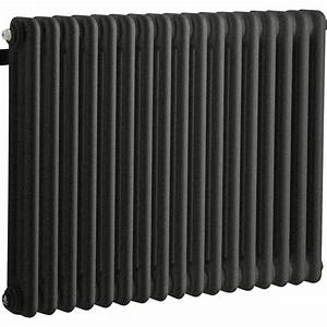 Radiateur Chauffage Central : radiateur chauffage central tesi noir cm 1030 w ~ Premium-room.com Idées de Décoration