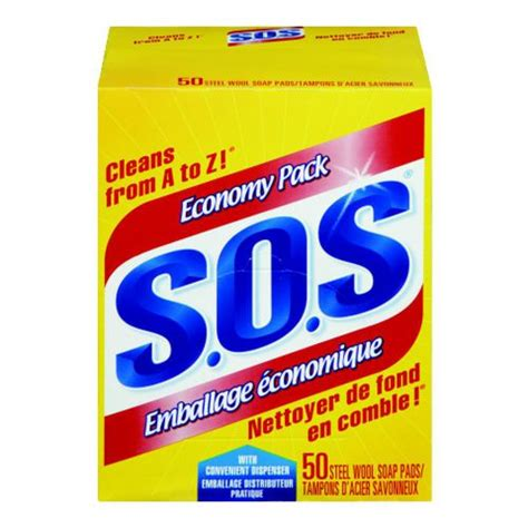 SOS Soap Pads 50Ct | Walmart Canada