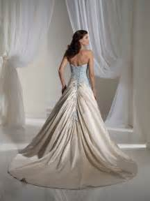 light blue wedding dress light blue and white combination wedding dress by tolli wedding inspiration trends