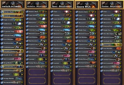 Hearthstone Features Playing Postnerf Hunter At