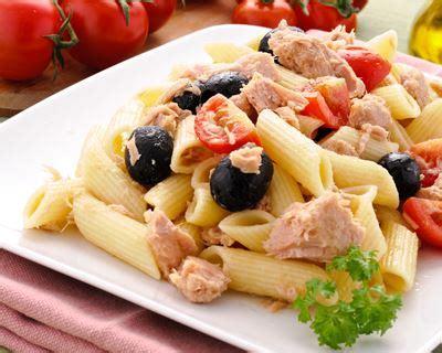 plat cuisiner recette salade de pâtes au thon
