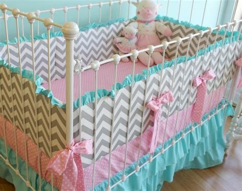 chevron crib bedding chevron baby bedding lottie da baby