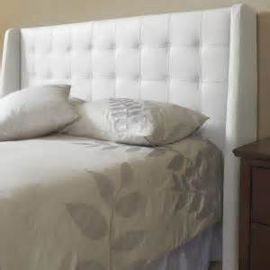 Wayfair White King Headboard by Top Grain Leather Headboard With Leather Lizard Printed Panels