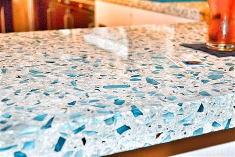 Recycled Glass Bathroom Countertops by I Need Pictures Of Bathroom Vanity Using Blue Recycled Glass